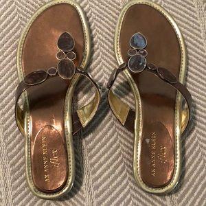 EUC! AK women's sandals size 7.5